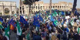 Marcia per l'Europa, anche delegazione molisana del Movimento Federalista in corteo a Roma