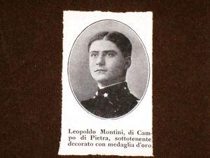 Share: Il 22 febbraio 1894 a Campodipietra (CB) nasce Leopoldo Montini, sottotenente di fanteria, medaglia […]