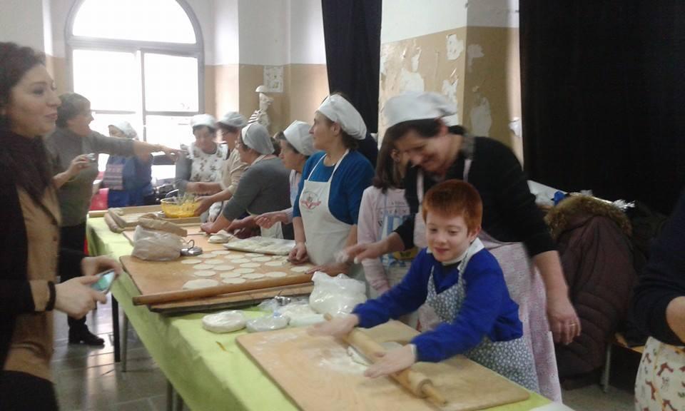 Libri e 39 cavezune 39 di san giuseppe a riccia la scuola si - Nonne in cucina ...