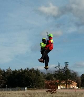 Esercitazione cnsas soccorso alpino 1