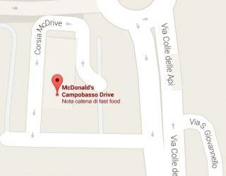 mappa mcdonald