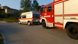 ambulanza e vigili del fuoco