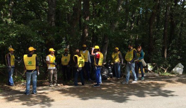 Volontari 39 puliscono il mondo 39 associazioni al lavoro per for Il verde mondo
