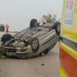 Ore 17.15. Ha perso il controllo dell'auto, probabilmente a causa dell'asfalto bagnato dalla pioggia, e […]