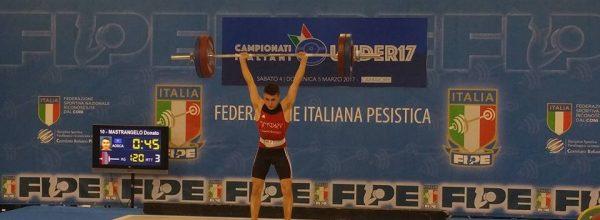 Finali Campionati Under 17, la Osca ancora protagonista, Donato Mastrangelo incoronato Campione Italiano categoria 56 kg